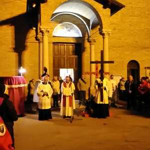 The Way of the Cross with the Bishop in the Church of San Francesco in Fidenza (PR) – March 30, 2018