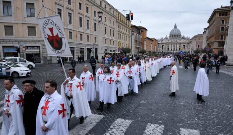 General Convent 2017 of the Catholic Templars in Rome