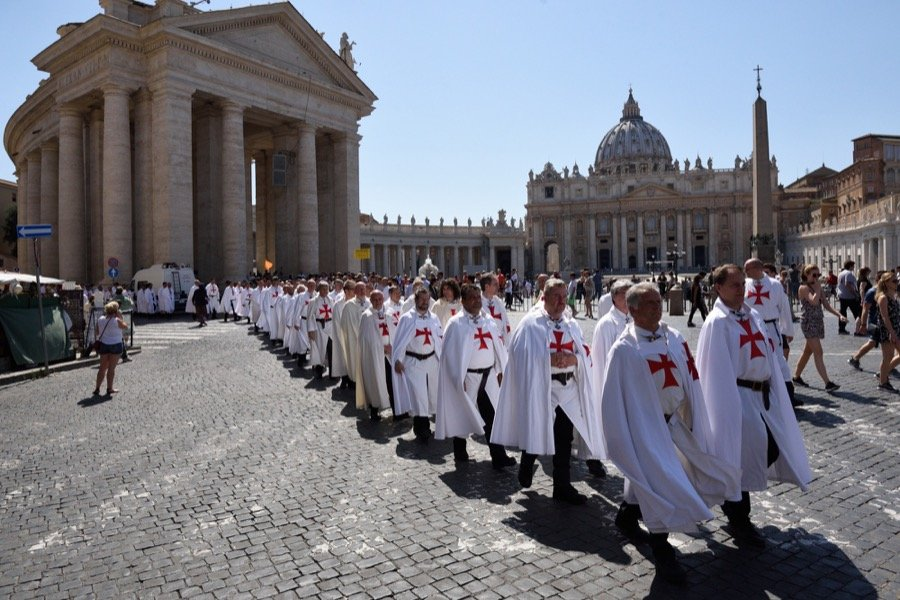 General Convent 2016 of the Italian Catholic Templars in the Vatican and in Rome