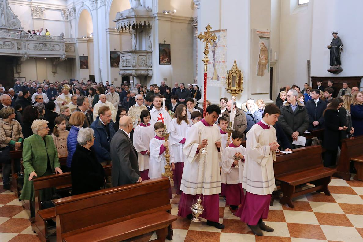 Pontifical Easter 2018 in the Cathedral of Pordenone