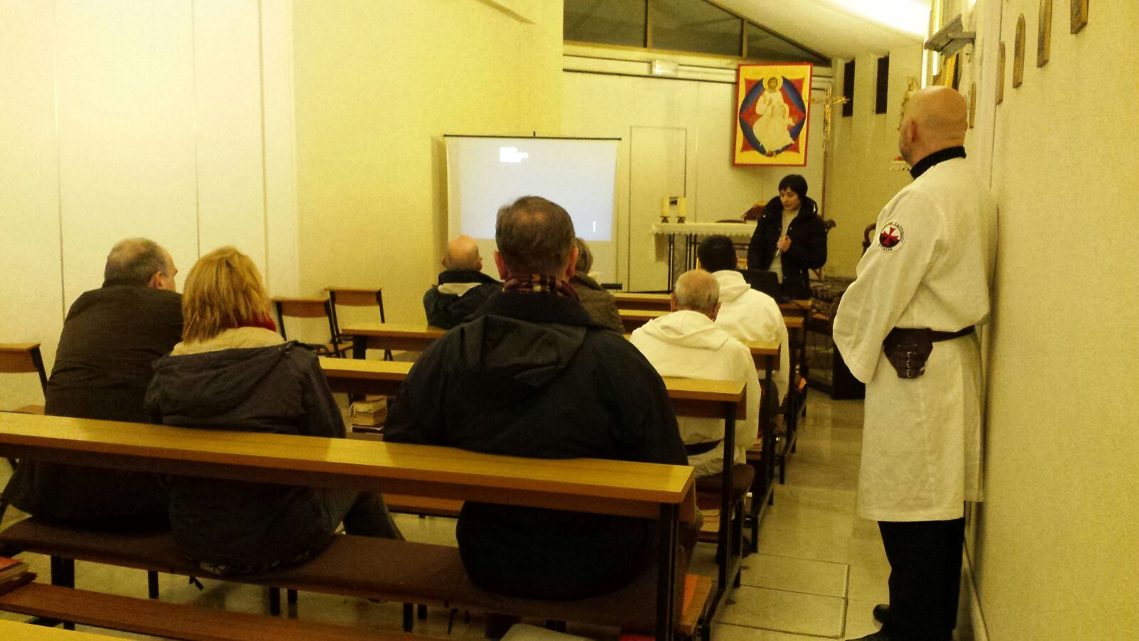 "Conference ""The Holy Shroud and the Templars"" – Church of San Sergio – Trieste"