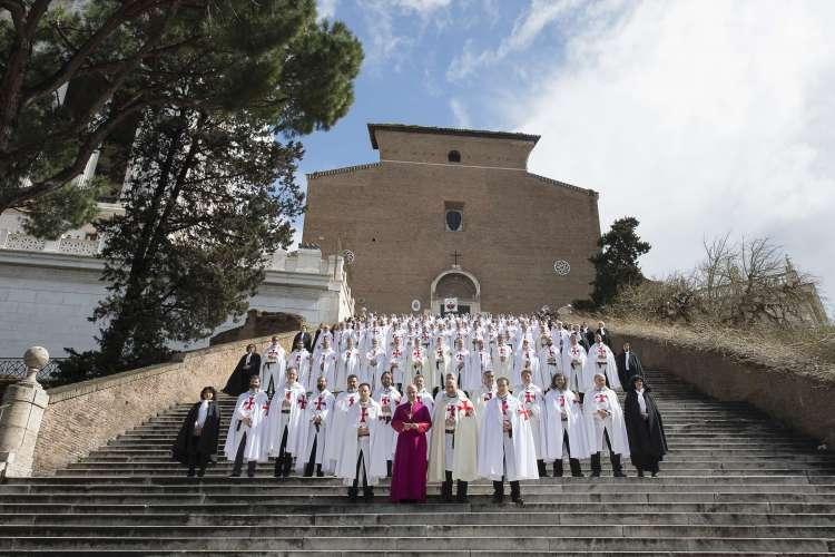 Templari con Mons. Fisichella