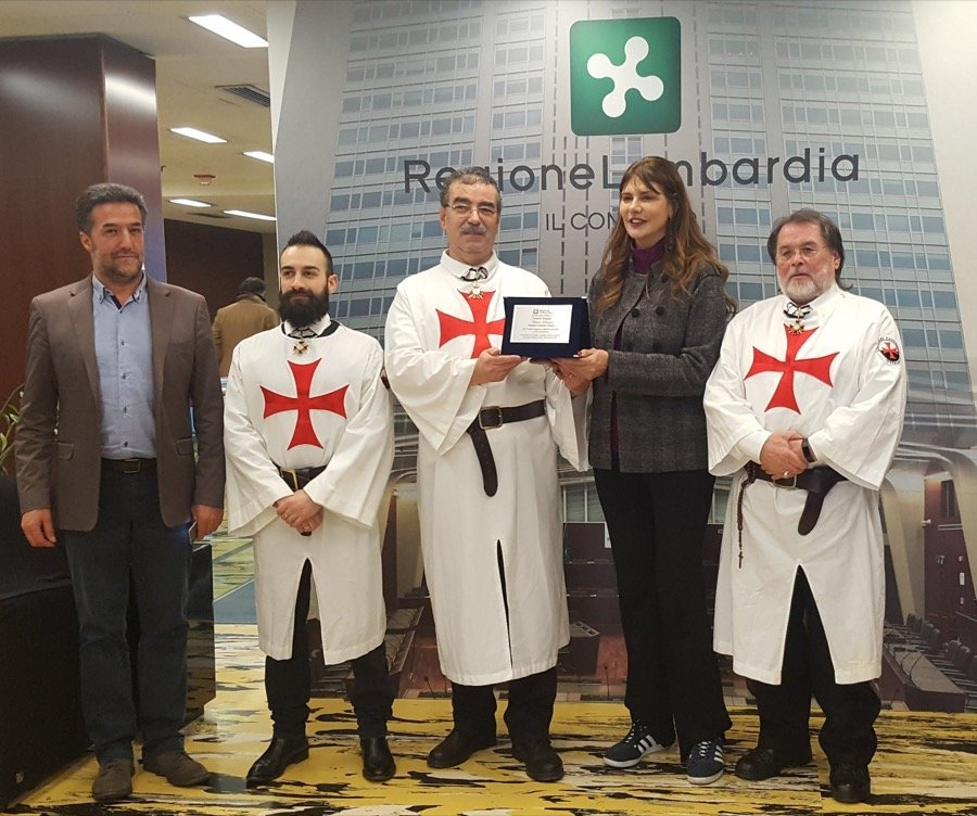 The Lombardy Region confers public recognition to the Catholic Templars