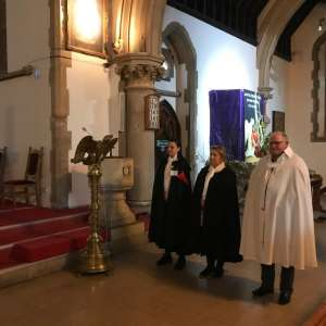 Participation in the Holy Mass in Reading on Resurrection Day
