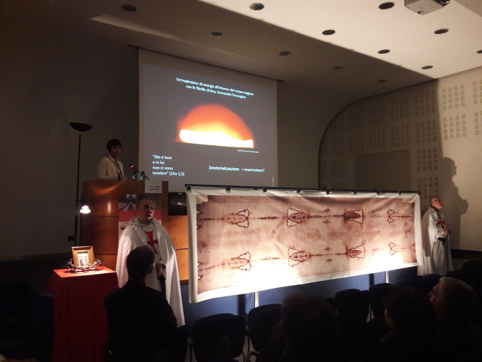 "Conference ""The cult of the Holy Shroud and the Templars of yesterday and today"""