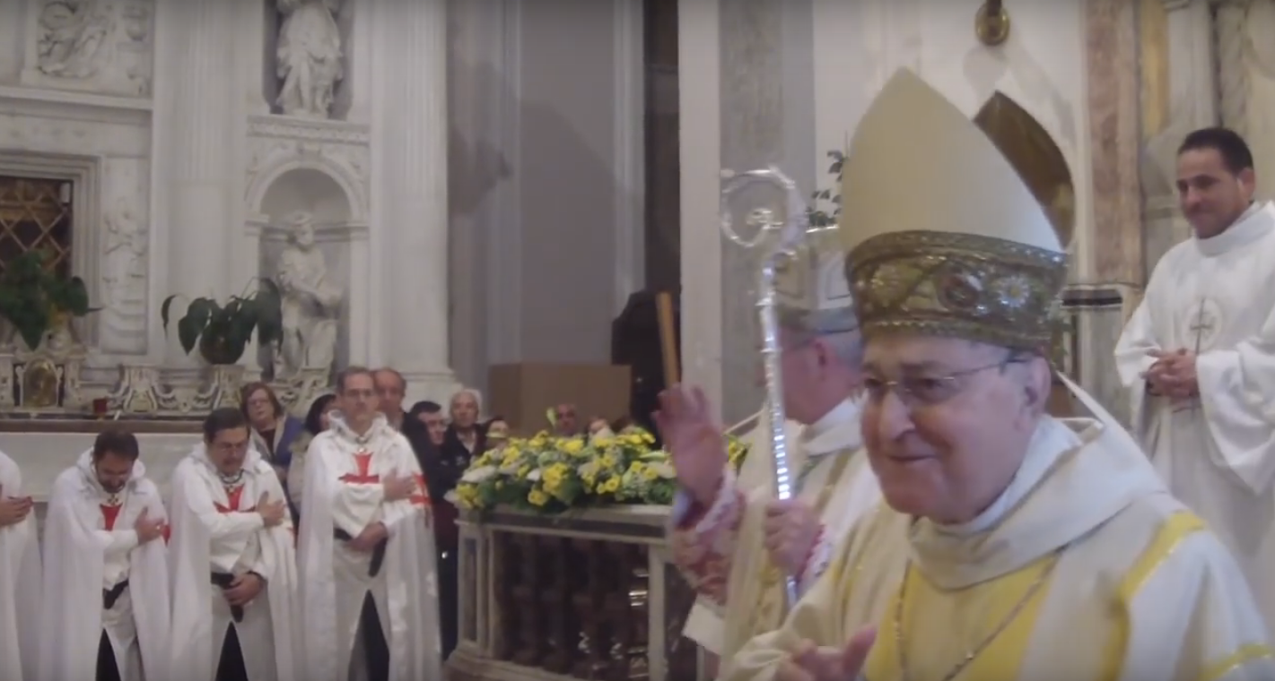 Closing of the Holy Door with Mons. Angelo Spinillo