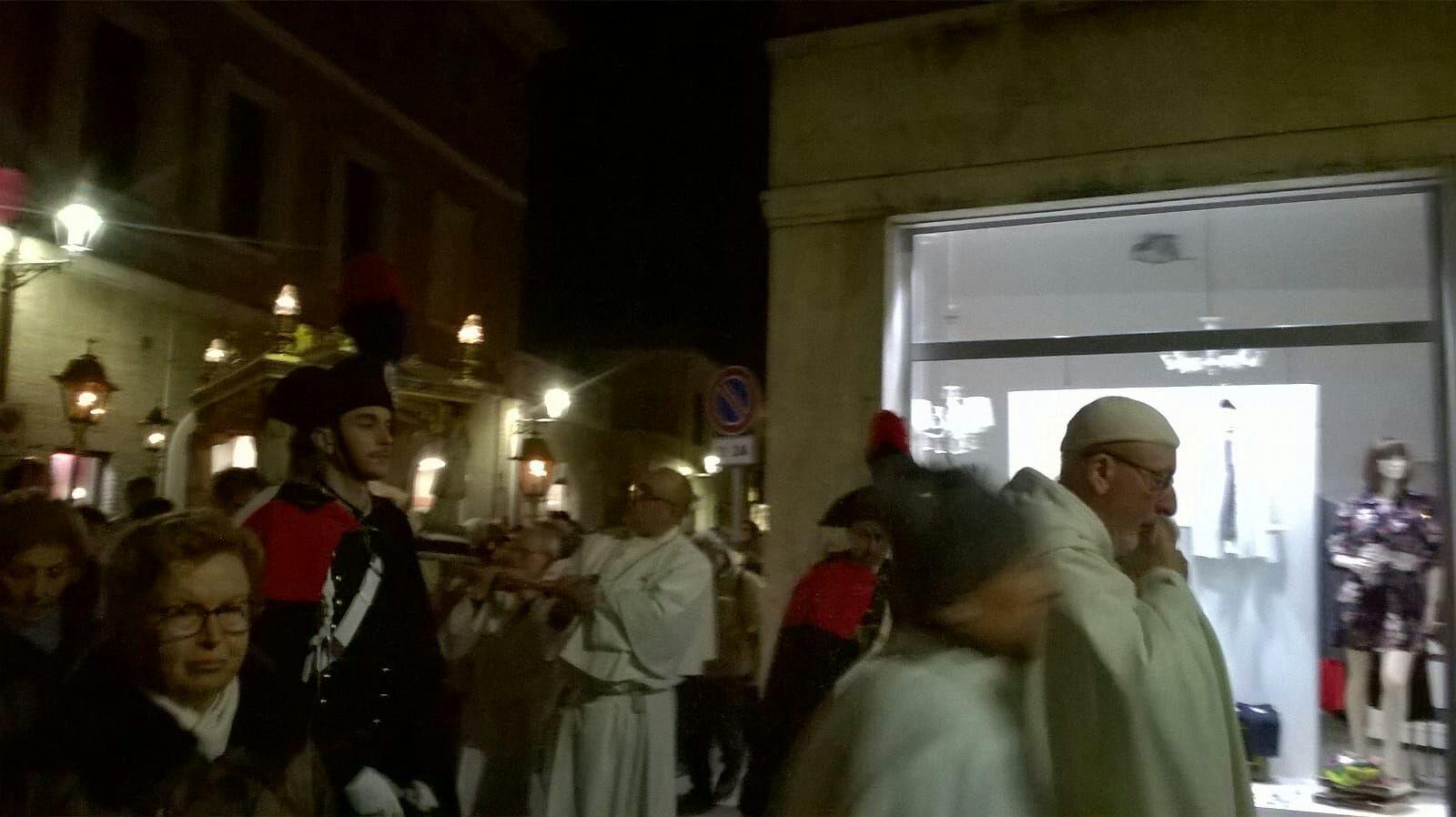 Senigallia - Via Crucis 2018 - Templari Cattolici foto 2